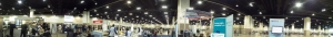 The Poster hall at #ARVO2015 meeting. About 800 posters each day from Sunday to Thursday, May 3-7, 2015.